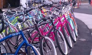 Bikes in Santa Cruz